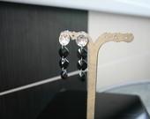 Nuostabus juodi auskarai