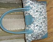 Patogus mėlynas krepšys/rankinė