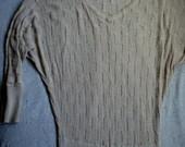žavus smėlinės spalvos MANGO nertinis