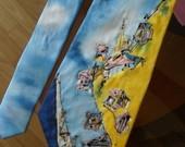 Naujas šilkinis vienetinis kaklaraištis