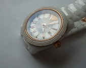 versace keramikinis laikrodis