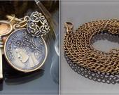 Moneta, raktas ir širdelė. Pakabukas