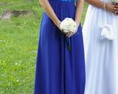 Proginė suknelė (mėlyna)