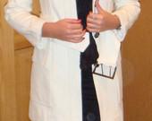 Baltas-kreminis Zara paltukas