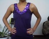 violetine tunika