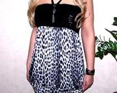 Leopardinė firminė suknelė - tunika