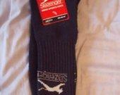 tamsiai mėlynos slazenger kojinės
