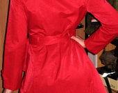 Tik - 48lt!! Naujas raodnas paltas, ploščius