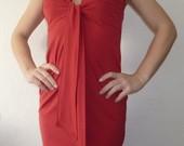 Miss Selfridge raudona suknelė S dydis