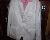 baltas kostiumas