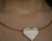 Aukso spalvos širdelė