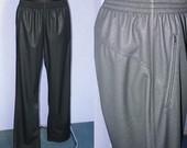 Blizgios vyriškos sportinės kelnės