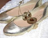 Gold /auksines gyvaciukes balerinkos