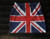 Sijonas su anglijos vėliava .