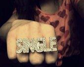 """Žiedas ,,Single"""" ."""