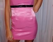 Ruzava mini suknele.