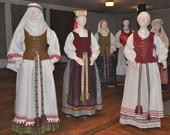 tautiniai drabužiai