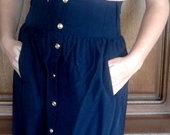 Zara sijonas su auksinemis sagutėmis
