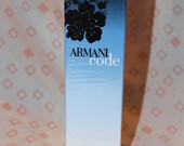 "Tik 70LT! Armani ""Code"" 75ml EDP"