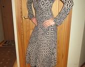 Trikotažinė suknelė