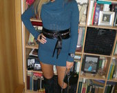 Kašmyrinis megztinis-suknelė