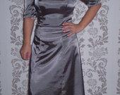 sidabrine vakarine suknele
