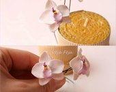 """plaukų špilkos""""Orchidėjos"""""""