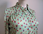Vintažiniai žaismingi marškiniai