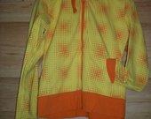 Ryškus geltonas džemperiukas