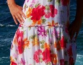 ilga vasarinė suknele