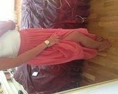 Maxi sijonas persikinis