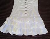 Balta suknute labai graži:)