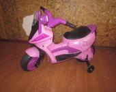 barbiskas motociklas
