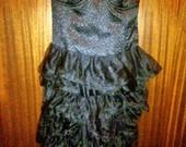 Nereali juoda Bershka suknute
