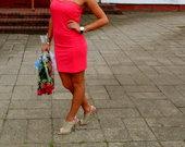 Ružava suknelė
