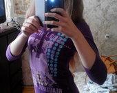 Violetinė palaidinė