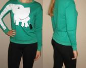 Žalias džemperis