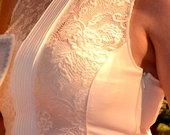 Zara prabangi nauja pieno baltumo suknele