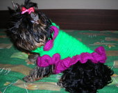 Šuniuko šilta suknelė