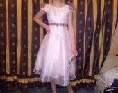 NUOMA balta suknele + 36 bateliai