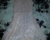 Kreminė suknė