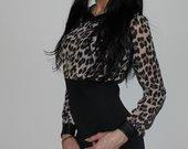 tigrine  suknele  nauja
