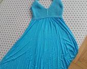 Mėlyna Vasarinė suknelė