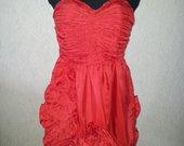 Graži raudona proginė/vakarinė suknelė