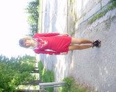 mini raudona suknele