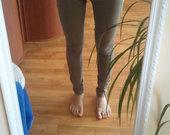 Chaki spalvos kelnės