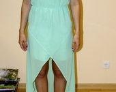 Zara mėtinė suknelė