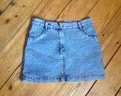Džinsinis mini sijonas