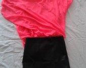 Naujas odos imitacijos sijonas