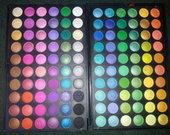 100 spalvų akių šešėliai